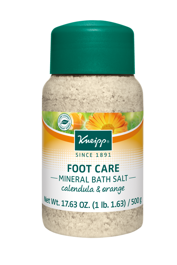 Foot Care Calendula & Orange Mineral Bath Salt