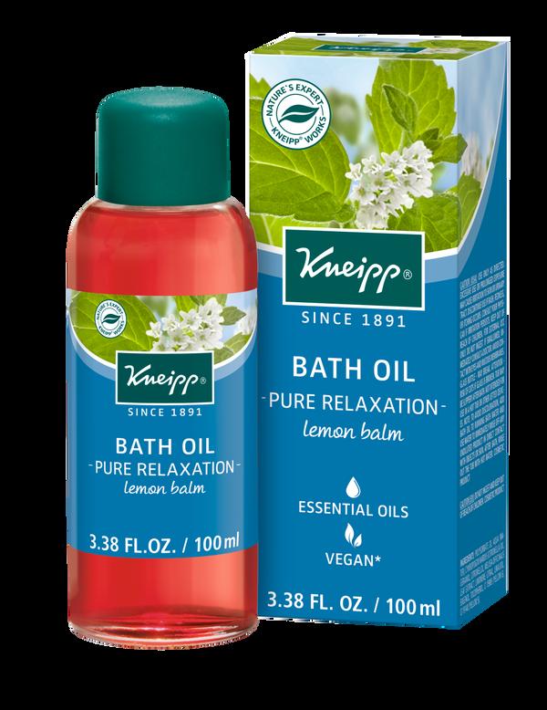 Pure Relaxation Lemon Balm Bath Oil