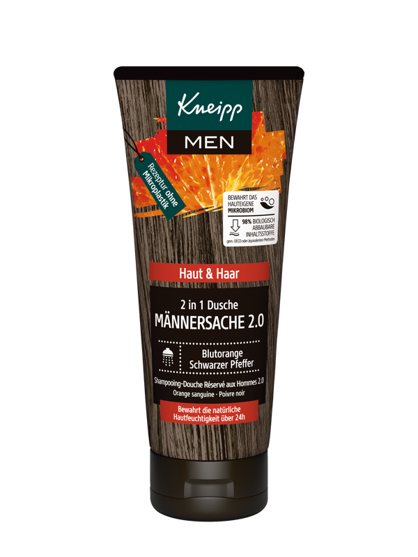 2 in 1 Dusche Männersache 2.0