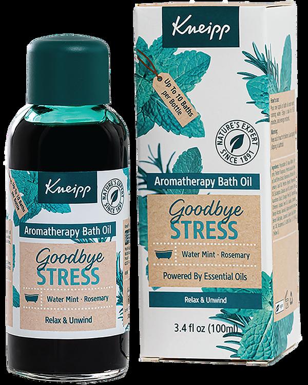 Goodbye Stress Rosemary & Water Mint Aromatherapy Bath Oil