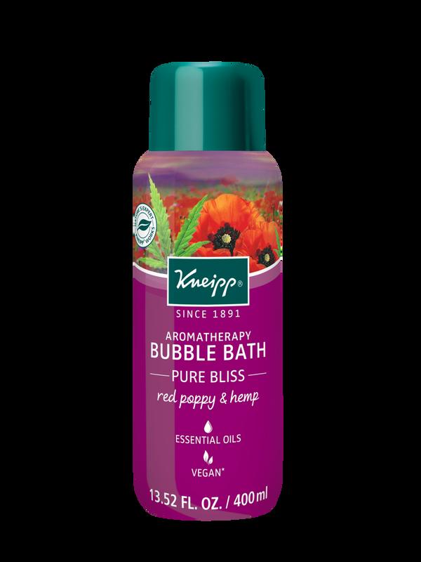 Pure Bliss Red Poppy & Hemp Bubble Bath