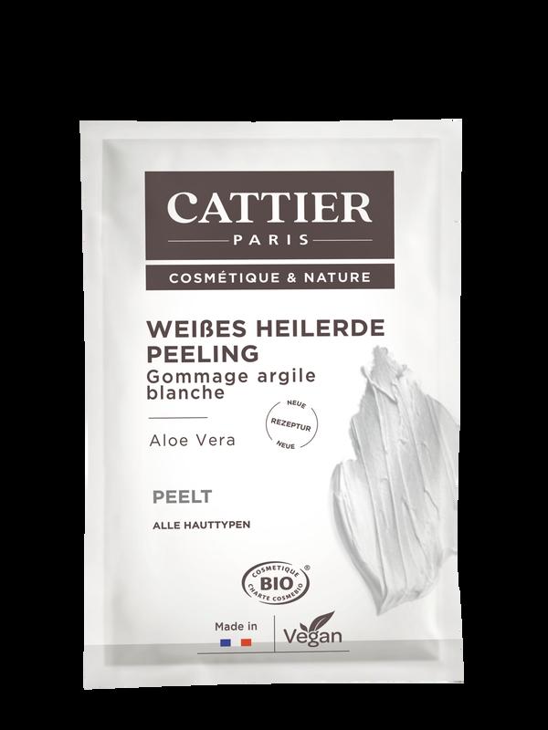 Cattier Weiße Heilerde Peeling für alle Hauttypen  - Einmalanwendung