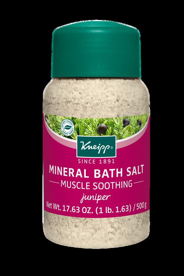 Muscle Soothing Juniper Mineral Bath Salt