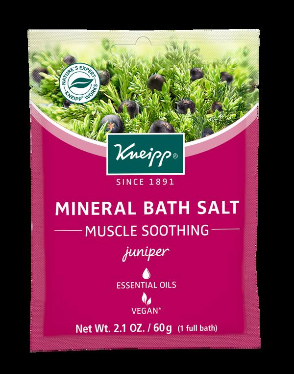 Muscle Soothing Juniper Mineral Bath Salt Mini