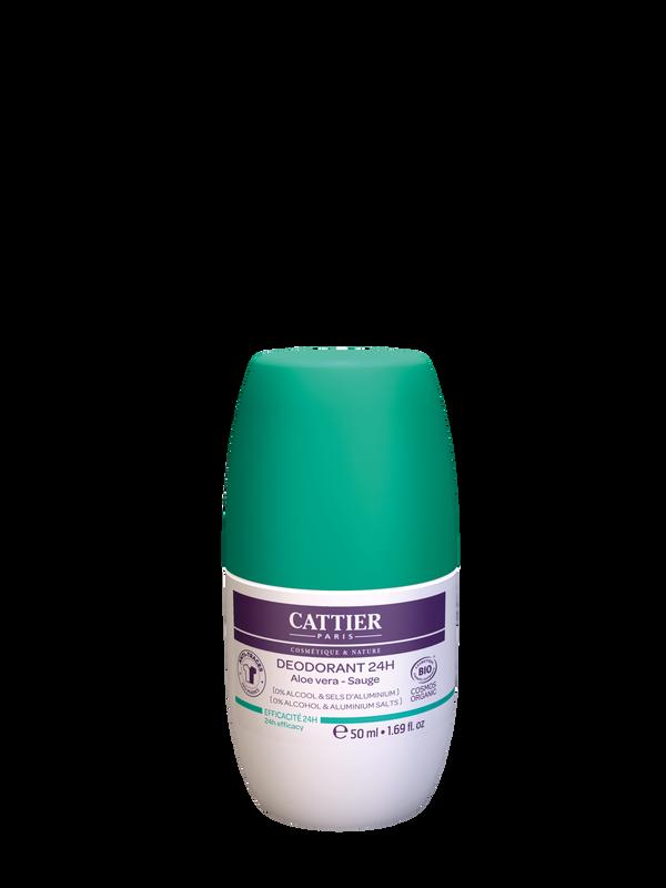 Cattier Deodorant 24h Roll-On