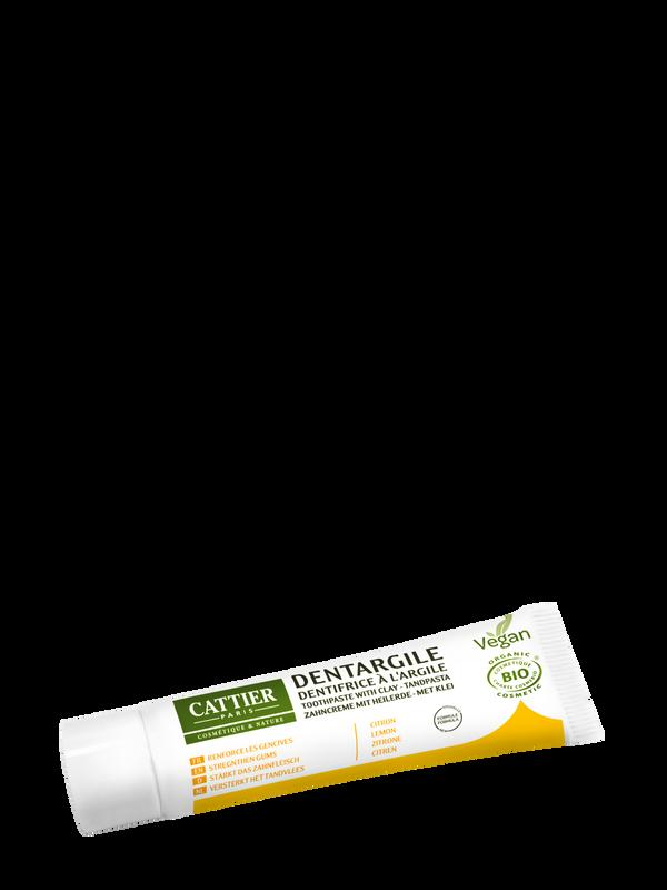 Cattier Mini Zahncreme mit Heilerde Zitrone