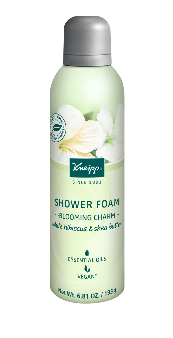 Blooming Charm White Hibiscus & Shea Butter Shower Foam