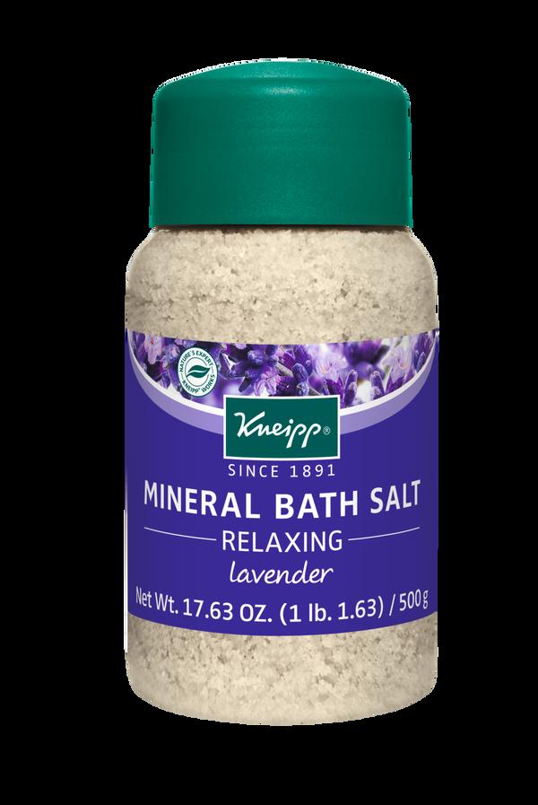Relaxing Lavender Mineral Bath Salt