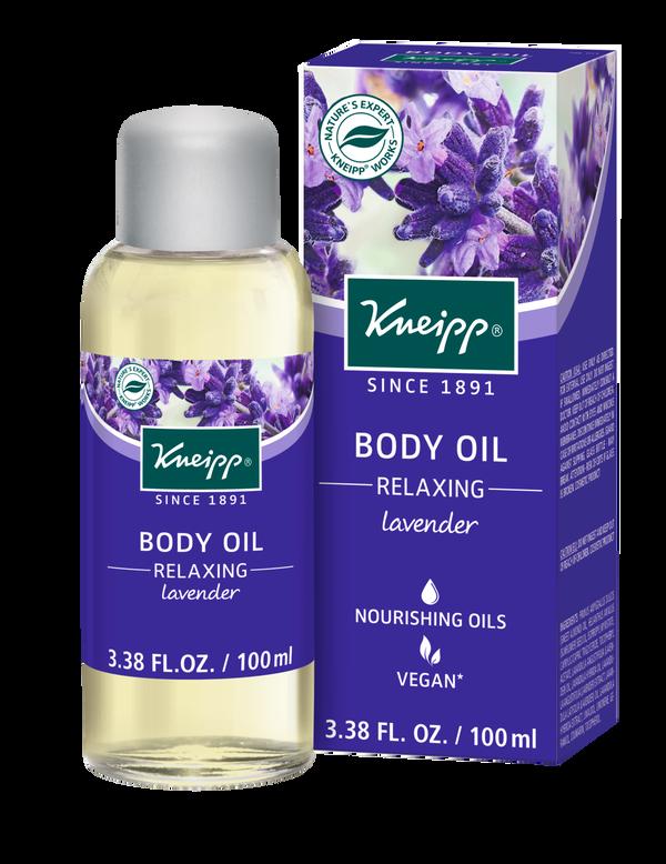 Relaxing Lavender Body Oil