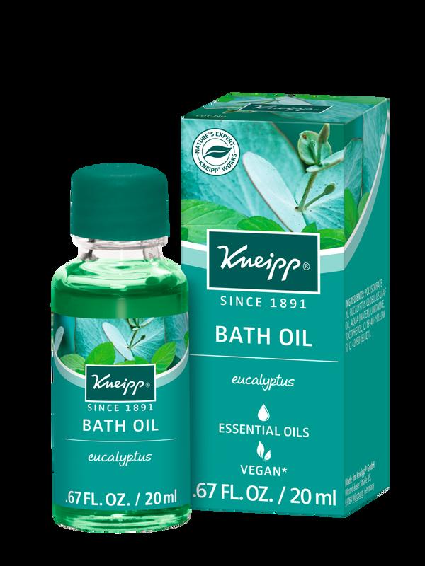 Refreshing Eucalyptus Bath Oil Mini