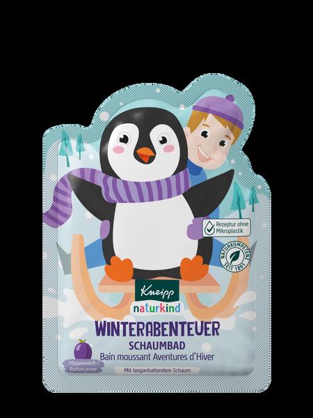 Naturkind Winterabenteuer Schaumbad