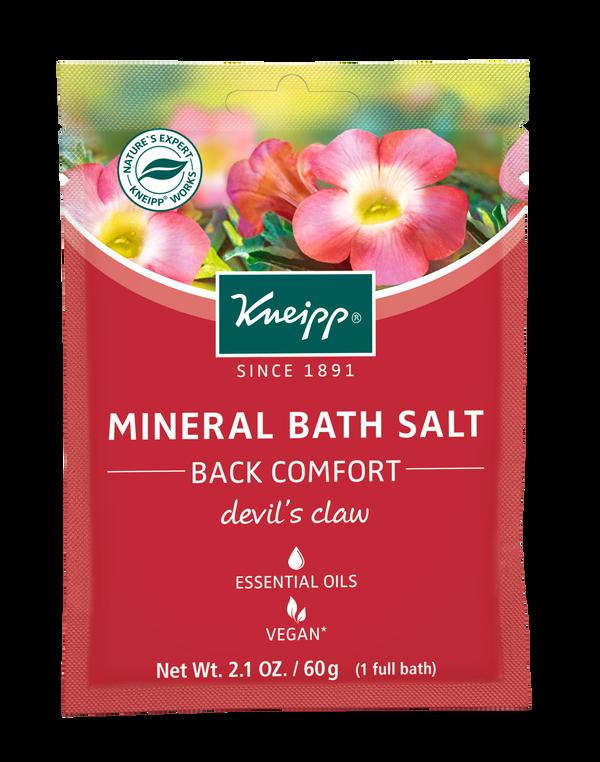 Back Comfort Devil's Claw Mineral Bath Salt Mini