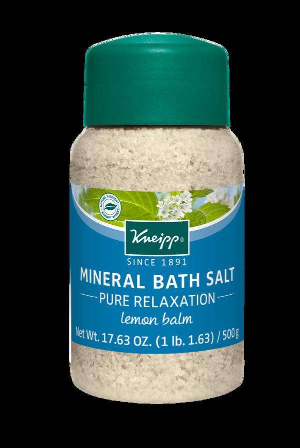 Pure Relaxation Lemon Balm Mineral Bath Salt
