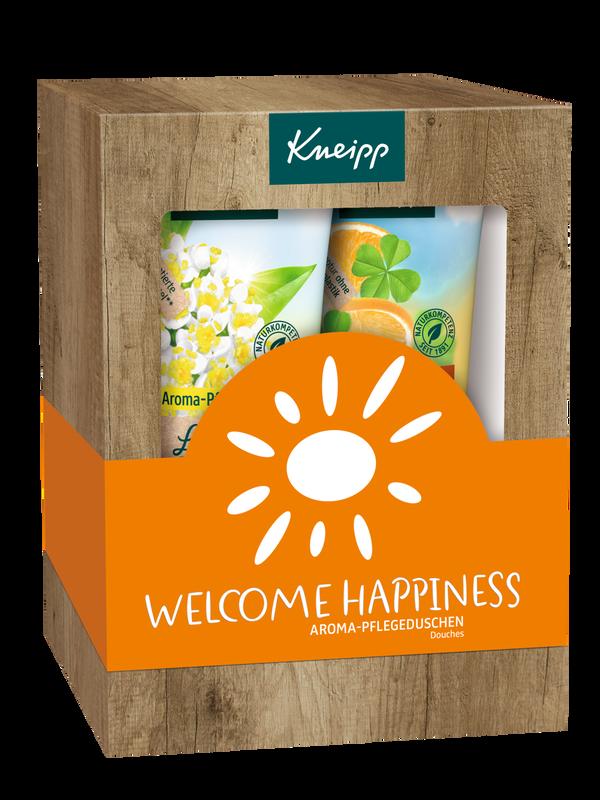 Geschenkpackung Welcome Happiness