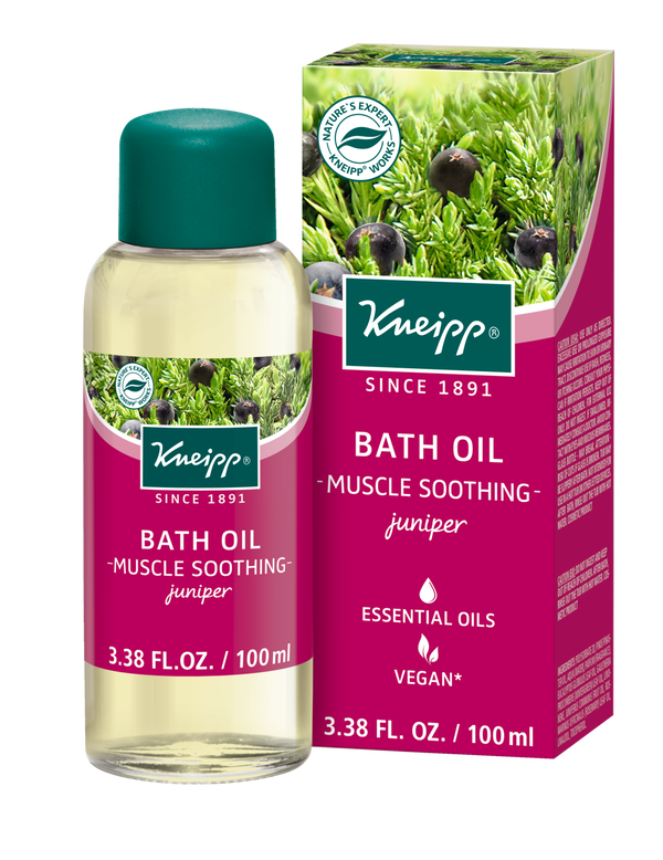 Muscle Soothing Juniper Mineral Bath Oil