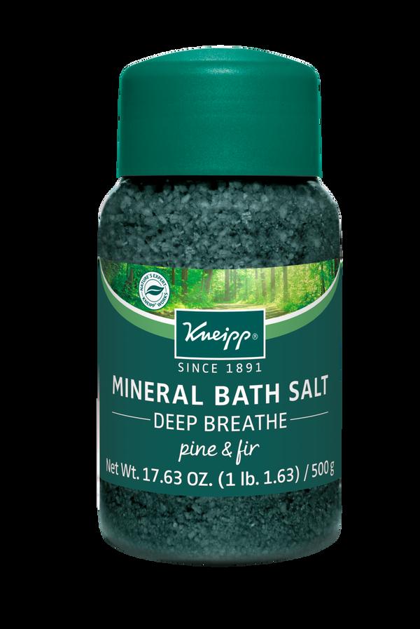Deep Breathe Pine & Fir Mineral Bath Salt