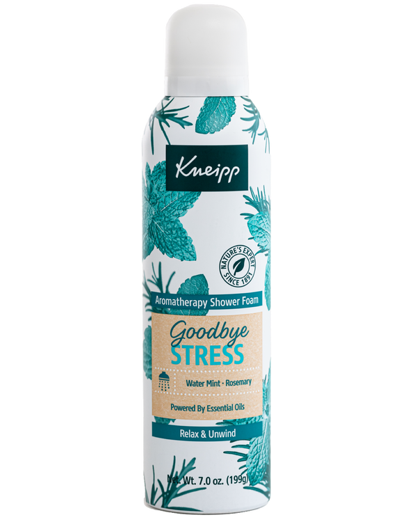 Goodbye Stress Rosemary & Water Mint Aromatherapy Shower Foam