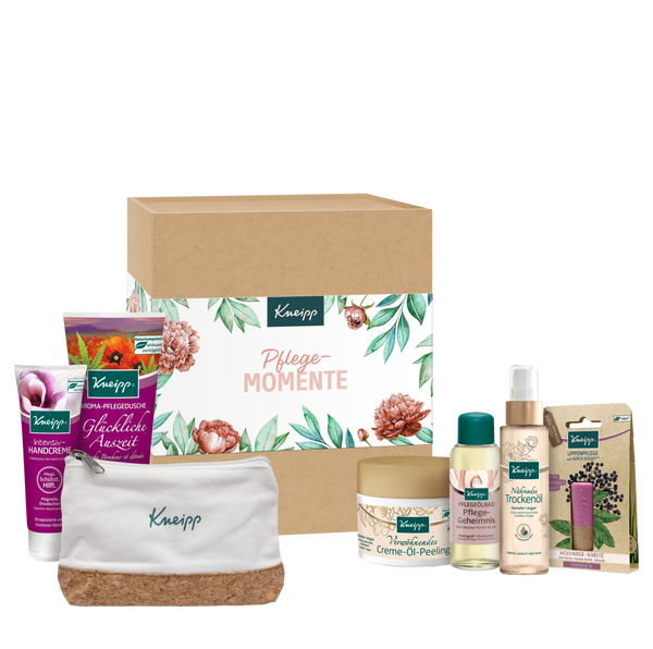 Geschenkbox Pflege-Momente