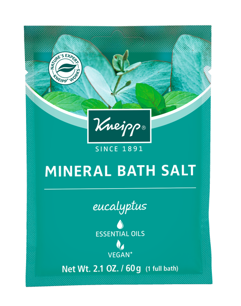 Refreshing Eucalyptus Mineral Bath Salt Mini