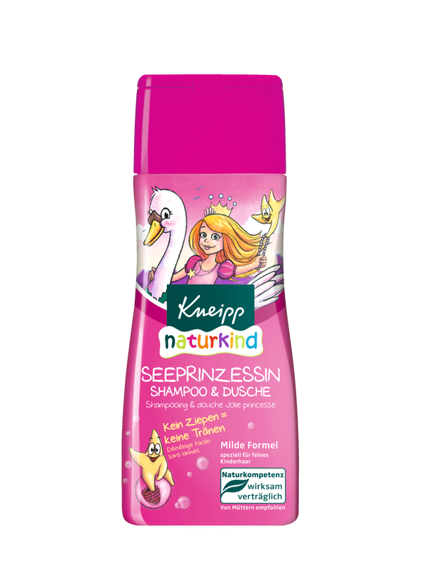 Naturkind Seeprinzessin Shampoo & Dusche